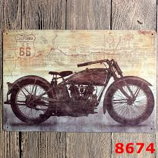online get cheap vintage motorcycle club signs aliexpress com