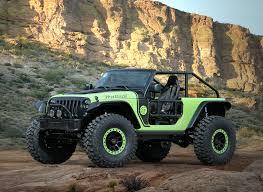 jeep comanche spare tire carrier jeep debuts 7 crazy concept vehicles
