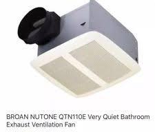nutone bathroom exhaust fan ebay