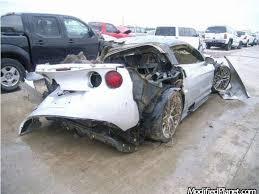 corvette car crash 2009 chevrolet corvette zr1 car crash