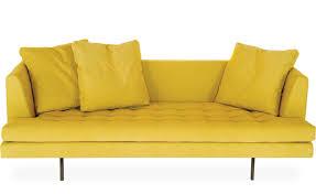 Yellow Sofa Bed Edward Sofa Edw175 Hivemodern Com