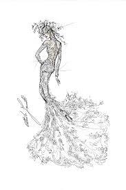 karl lagerfeld alexander wang more designers sketch lady gaga