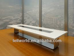 Contemporary Conference Tables by Modern White Gloss Conference Tables Design 100 1000 Meter