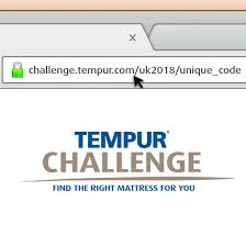 With Challenge Tempur Challenge Free Pillow Promotion Tempur Uk