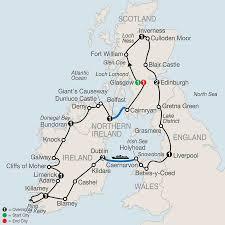 Map Of Scotland And England Scotland Tour U0026 Vacation Packages Edinburgh Glasgow Globus