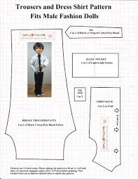 free printable sewing patterns for ken dolls u0027 clothes