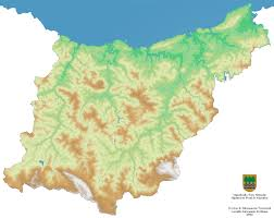 Plano Map Maps Of Gipuzkoa To Download Map Collection B5m