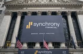credit card warning sends synchrony shares dropping wsj