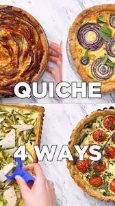 Quiche Blind Bake Or Not Easy Quiche 4 Ways Recipe Tastemade