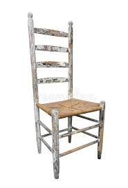 Antique Wood High Chair Antique Wooden High Back Chair Isolated Stock Photo Image 27078470