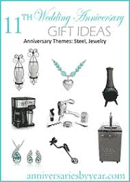11th anniversary gift ideas eleventh anniversary 11th wedding anniversary gift ideas