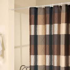 Vertical Striped Shower Curtain Amazing Grey And Brown Shower Curtain Photos Best Inspiration