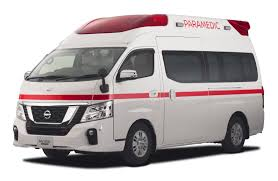 nissan van nv350 nissan to unveil new ambulance and electric delivery vehicle