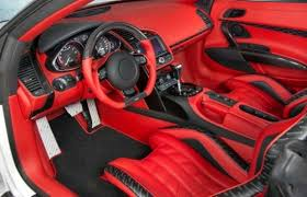 Custom Car Interior Design by The 50 Most Outrageous Custom Car Interiors19 Audi R8 V10 Spyder