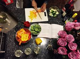Kris Jenner Kitchen by My Komfortingly Vanilla Evening In The Kitchen With Kris Jenner