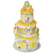 neutral looney tunes diaper cake 89 00 diaper cakes mall