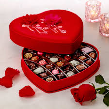 Valentines Day Gifts by Valentine U0027s Day Satin Embroidered Heart Chocolate Gift Box 37 Pc