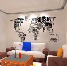 removable wall stickers letter world map quote vinyl decal art removable wall stickers letter world map quote vinyl decal art mural home decor