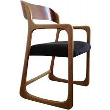 chaise traineau baumann chaise traîneau baumann en hêtre 1960 design market