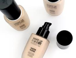 new make up for ever water blend face u0026 body foundation modern