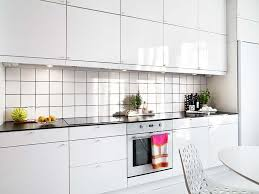 kitchen stunning white small galley kitchen with square white