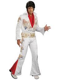 Rockstar Halloween Costumes Collector Elvis Costume Mens Rock Star Halloween Costumes