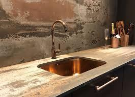 designer kitchen taps uk alveus monarch variant 10 copper sink teamed with alveus monarch