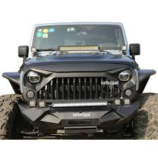grey jeep rubicon amazon com safaripal jeep wrangler gladiator angry front grille