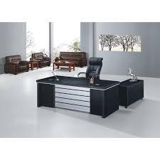 fascinating black glass office table office desks home black glass