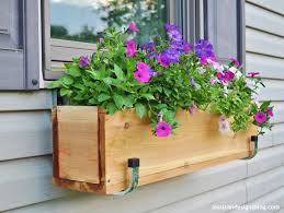 how to build a window flower box jessicandesigns diy window flower boxes