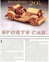 wooden sports car plans u2022 woodarchivist