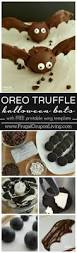 Bat For Halloween Halloween Oreo Bat Truffles