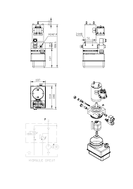 monarch hydraulic parts solenoid small 12v power unit wiring