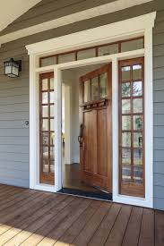 Cheap Exterior Door Entry Door With One Sidelight Cheap Exterior Doors Sidelights