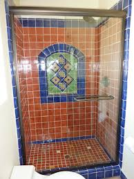 mexican tile bathroom designs bathroom shower using mexican tiles by kristiblackdesigns