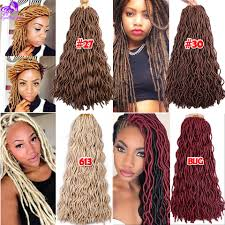 Curly Hair Extensions For Braiding by 24inch Curly Freetress Wavy Faux Locks Crochet Braids Hair