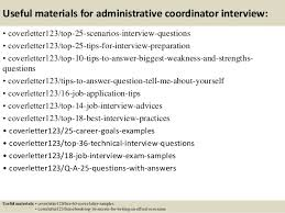 Sample Resume Administrative Coordinator by Top 5 Administrative Coordinator Cover Letter Samples