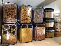 kitchen food storage pantry cabinet kitchen pantry organization ideas before and after photos