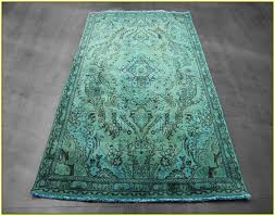 Green Persian Rug Over Dyed Persian Rugs Home Design Ideas
