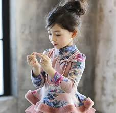 girl necklace size images Wholesale korean winter girl long sleeve t shirt floral print jpg