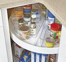 how to organize a lazy susan cabinet lazy susan bin