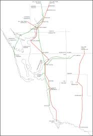 Bonita Springs Florida Map by Tampa Bay Trains Boom Time Rail Branches In Lee And Collier Counties