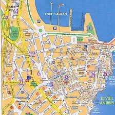 map of antibes map of antibes and port antibes