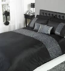 Glitter Bedding Sets Black And Silver Sequin Bedding Occupiedoaktrib Org