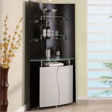 Black Bar Cabinet Furniture Portable Black Home Bar Cabinet With Wine Storage And