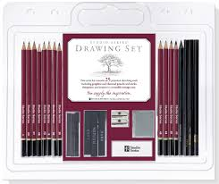 studio series 25 piece sketch u0026 drawing pencil set artist u0027s