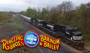 Barnes And Bailey Circus Ringling Bros And Barnum U0026 Bailey Circus Train 2016 Youtube