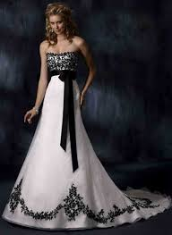 black and white wedding dress wedding gowns for black and white wedding dresses
