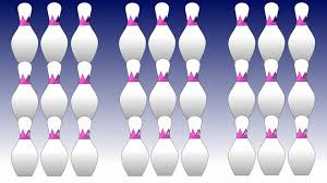 learn colors white colors bowling pin pena animation youtube