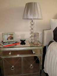 z gallerie side table mirrored furniture the funky bear